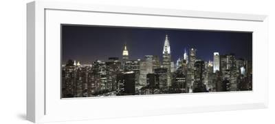 Midtown Skyline with Chrysler Building and Empire State Building, Manhattan, New York City, USA-Jon Arnold-Framed Photographic Print