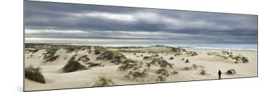 The Vast Empty Beach and Sand Dunes of Sao Jacinto in Winter, Beira Litoral, Portugal-Mauricio Abreu-Mounted Photographic Print