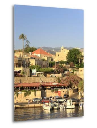 Lebanon, Byblos, Harbour-Michele Falzone-Metal Print