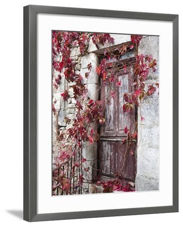France, Midi-Pyrenees Region, Aveyron Department, La Couvertoirade-Walter Bibikow-Framed Photographic Print