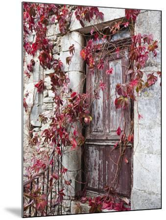 France, Midi-Pyrenees Region, Aveyron Department, La Couvertoirade-Walter Bibikow-Mounted Photographic Print