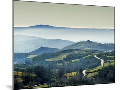 Mountains in the MiSt. Alturas Do Barroso, Tras-Os-Montes, Portugal-Mauricio Abreu-Mounted Photographic Print