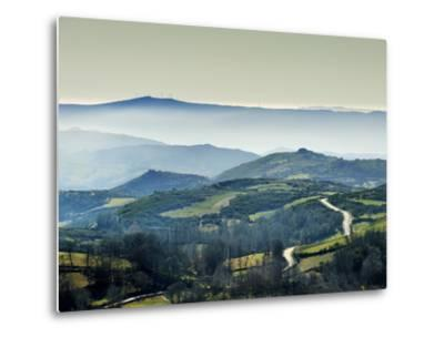 Mountains in the MiSt. Alturas Do Barroso, Tras-Os-Montes, Portugal-Mauricio Abreu-Metal Print