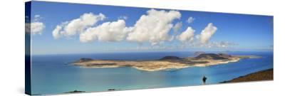 Graciosa Island Seen from the Mirador Del Rio, Lanzarote, Canary Islands-Mauricio Abreu-Stretched Canvas Print
