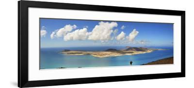 Graciosa Island Seen from the Mirador Del Rio, Lanzarote, Canary Islands-Mauricio Abreu-Framed Photographic Print