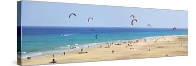 Playa De Sotavento De Jandia, Fuerteventura, Canary Islands-Mauricio Abreu-Stretched Canvas Print