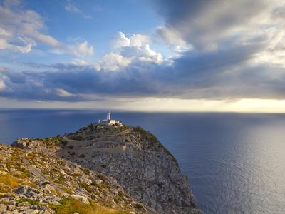 Lighthouse at Cap De Formentor, Mallorca, Balearic Islands, Spain-Doug Pearson-Framed Photographic Print