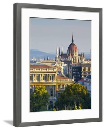 Hungarian Parliament Building, Budapest, Hungary-Doug Pearson-Framed Photographic Print