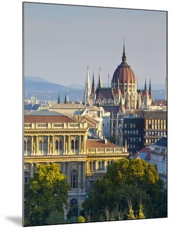 Hungarian Parliament Building, Budapest, Hungary-Doug Pearson-Mounted Photographic Print