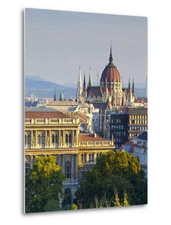 Hungarian Parliament Building, Budapest, Hungary-Doug Pearson-Metal Print