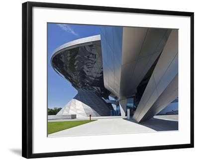 Main Entrance to BMW Welt (BMW World) , Multi-Functional Customer Experience and Exhibition Facilit-Cahir Davitt-Framed Photographic Print