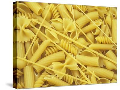 A Selection of Popular Pasta Shapes-Wally Eberhart-Stretched Canvas Print