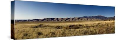 Great Sand Dunes National Park, Colorado, USA-Paul Andrew Lawrence-Stretched Canvas Print