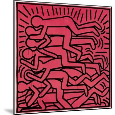 Untitled, 1982-Keith Haring-Mounted Giclee Print
