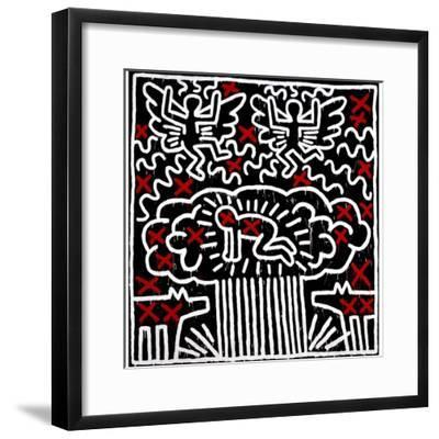 Untitled, 1983-Keith Haring-Framed Giclee Print