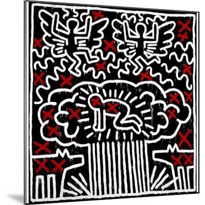 Untitled, 1983-Keith Haring-Mounted Giclee Print