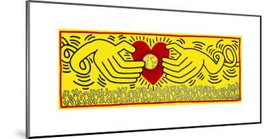 Untitled, 1985-Keith Haring-Mounted Giclee Print