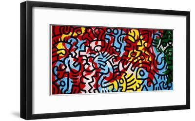 Untitled-Keith Haring-Framed Giclee Print