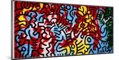 Untitled-Keith Haring-Mounted Giclee Print