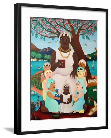 Grandmother, 2008-Laura James-Framed Giclee Print