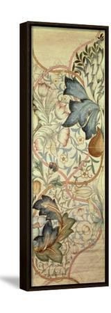 Original Design for the Artichoke Embroidery by Morris, C.1875-William Morris-Framed Stretched Canvas Print