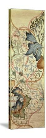 Original Design for the Artichoke Embroidery by Morris, C.1875-William Morris-Stretched Canvas Print
