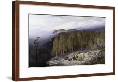 The Forest of Valdoniello, Corsica, 1869-Edward Lear-Framed Giclee Print