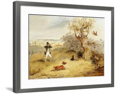 Pheasant Shooting-Henry Thomas Alken-Framed Giclee Print
