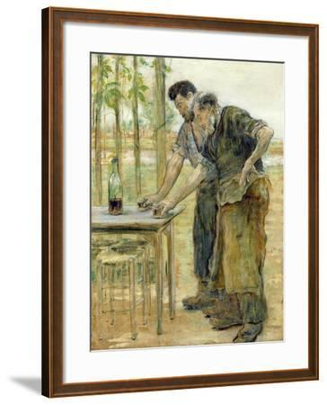 The Blacksmiths-Jean Francois Raffaelli-Framed Giclee Print