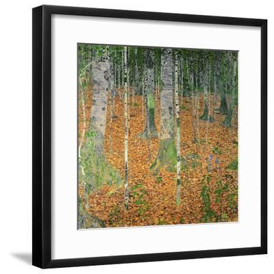 The Birch Wood, 1903-Gustav Klimt-Framed Premium Giclee Print