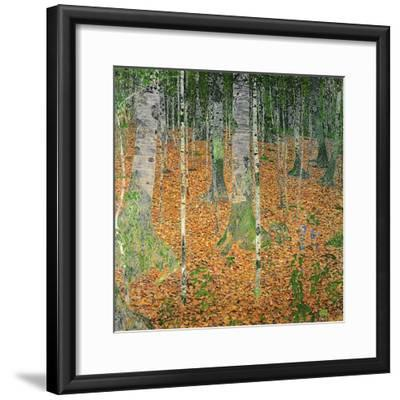 The Birch Wood, 1903-Gustav Klimt-Framed Giclee Print