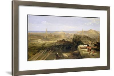 Edinburgh from the Castle, 1847-David Roberts-Framed Giclee Print