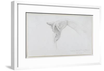 Study for 'Thermaie Antoniniane', 1899 (Pencil on Paper)-Sir Lawrence Alma-Tadema-Framed Giclee Print