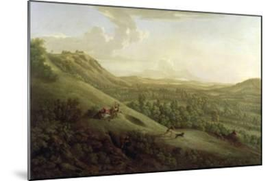 A View of Boxhill, Surrey, with Dorking in the Distance, 1733-George Lambert-Mounted Giclee Print