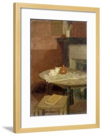 The Brown Tea Pot, 1915-16-Gwen John-Framed Giclee Print