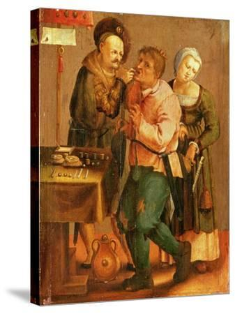 Tooth Extraction-Lucas van Leyden-Stretched Canvas Print