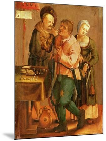 Tooth Extraction-Lucas van Leyden-Mounted Giclee Print