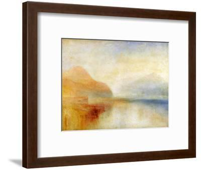 Inverary Pier, Loch Fyne, Morning, c.1840-50-J^ M^ W^ Turner-Framed Premium Giclee Print