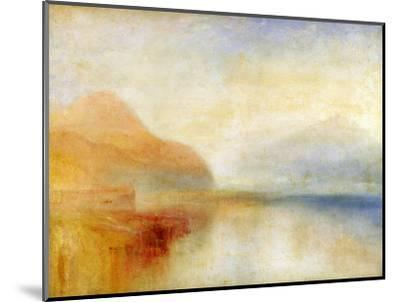 Inverary Pier, Loch Fyne, Morning, c.1840-50-J^ M^ W^ Turner-Mounted Premium Giclee Print