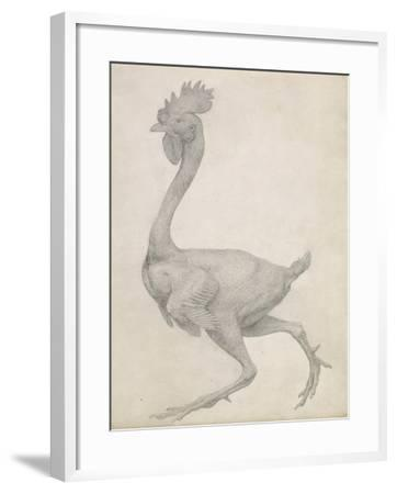 Fowl: Lateral View with Most Feathers Removed-George Stubbs-Framed Giclee Print