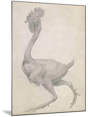 Fowl: Lateral View with Most Feathers Removed-George Stubbs-Mounted Giclee Print