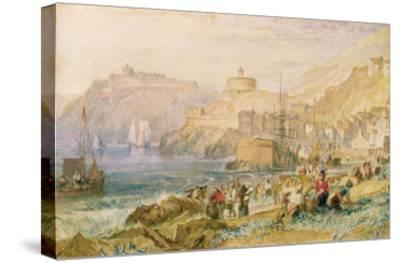 St. Mawes, Cornwall, C.1823 (W/C on Paper)-J^ M^ W^ Turner-Stretched Canvas Print