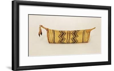 Hupa Jump Dance Basket, from North Carolina (Woven Fibre)-American-Framed Giclee Print
