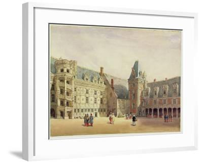 Le Chateau De Blois (W/C on Paper)-Thomas Shotter Boys-Framed Giclee Print
