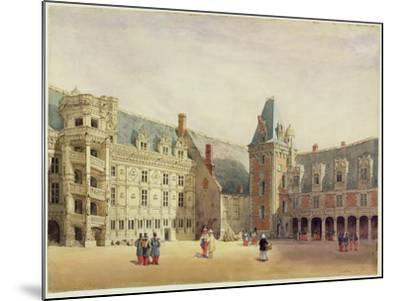 Le Chateau De Blois (W/C on Paper)-Thomas Shotter Boys-Mounted Giclee Print