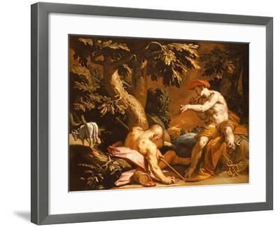 Mercury and Argus-Abraham Bloemaert-Framed Giclee Print