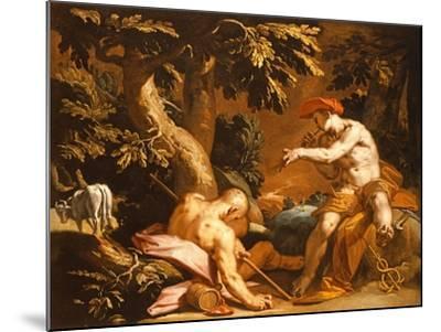 Mercury and Argus-Abraham Bloemaert-Mounted Giclee Print
