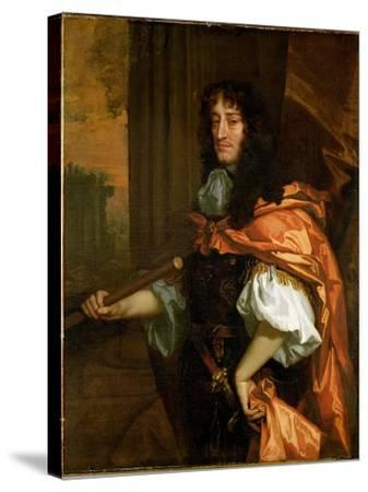 Prince Rupert (1619-82), c.1666-71-Sir Peter Lely-Stretched Canvas Print