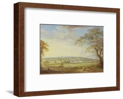 Whatman Turkey Mill in Kent, 1794 (Gouache, Bodycolour, W/C and Pencil on Paper Laid on Canvas)-Paul Sandby-Framed Premium Giclee Print