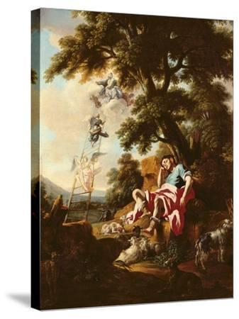 Jacob's Dream-Francesco Solimena-Stretched Canvas Print